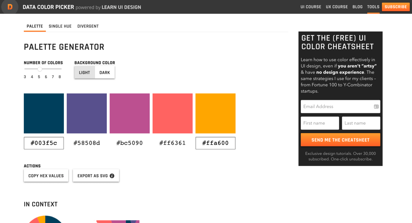 Data Viz Color Picker